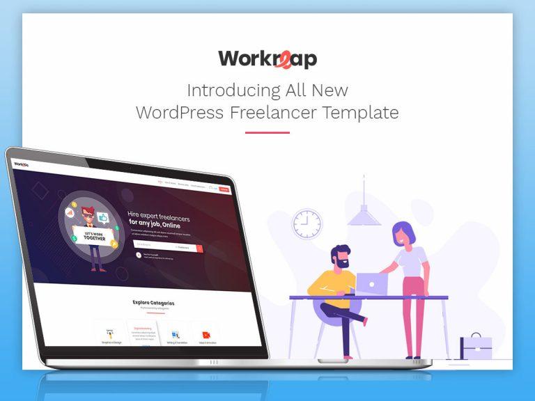 Workreap — шаблон биржи фриланса wordpress