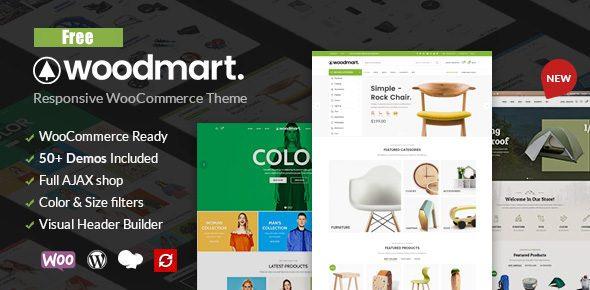 WoodMart NULLED — шаблон интернет-магазина WordPress