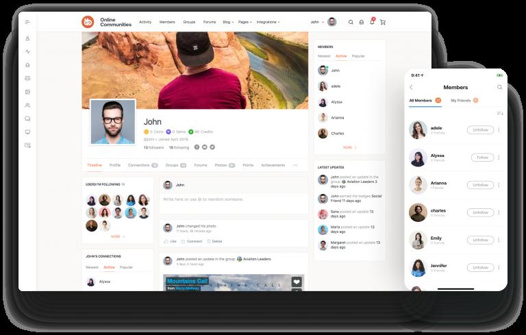 BuddyBoss Theme + BuddyBoss Platform + PRO