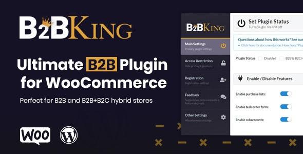 B2BKing — лучший плагин WooCommerce для B2B и оптовой торговли