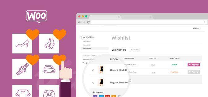 YITH WooCommerce Wishlist Premium — списки желаний WooCommerce