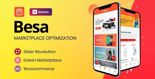 Besa — тема WooCommerce на базе Elementor